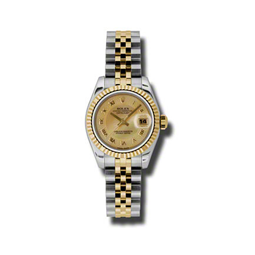 Oyster Perpetual Lady-Datejust 26 Fluted Bezel 179173 chmdrj