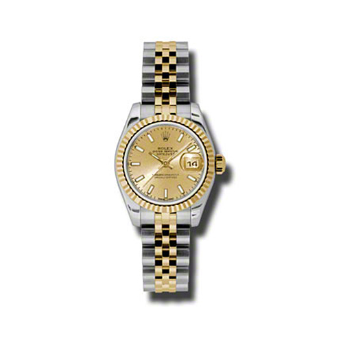 Oyster Perpetual Lady-Datejust 26 Fluted Bezel 179173 chsj