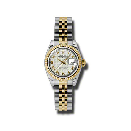 Oyster Perpetual Lady-Datejust 26 Fluted Bezel 179173 iprj