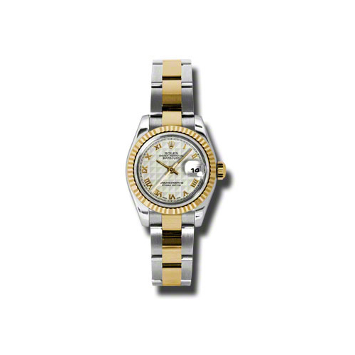 Oyster Perpetual Lady-Datejust 26 Fluted Bezel 179173 ipro