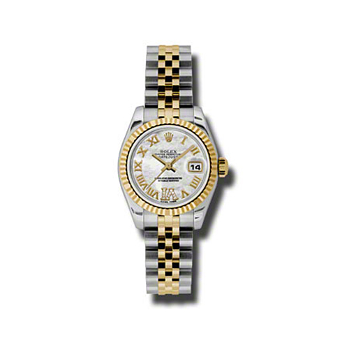 Oyster Perpetual Lady-Datejust 26 Fluted Bezel 179173 mdrj
