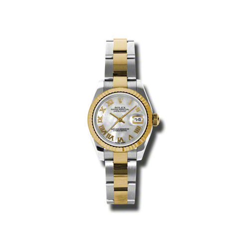 Oyster Perpetual Lady-Datejust 26 Fluted Bezel 179173 mro