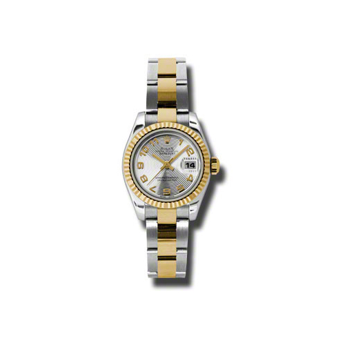 Oyster Perpetual Lady-Datejust 26 Fluted Bezel 179173 scao