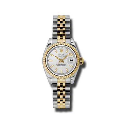 Oyster Perpetual Lady-Datejust 26 Fluted Bezel 179173 ssj