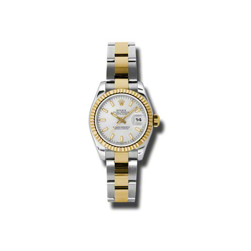 Oyster Perpetual Lady-Datejust 26 Fluted Bezel 179173 sso