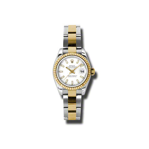 Oyster Perpetual Lady-Datejust 26 Fluted Bezel 179173 wso