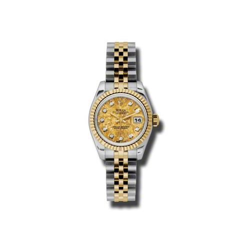Oyster Perpetual Lady Datejust 179173 ygcdj