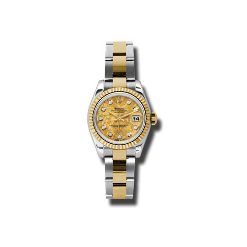 Oyster Perpetual Lady Datejust 179173 ygcdo