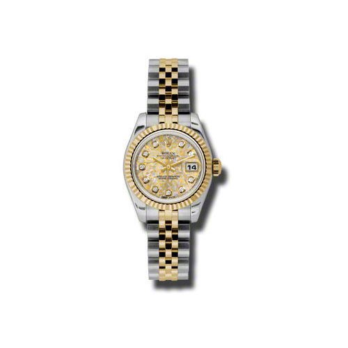 Oyster Perpetual Lady-Datejust 26 Fluted Bezel 179173 ygjcdj