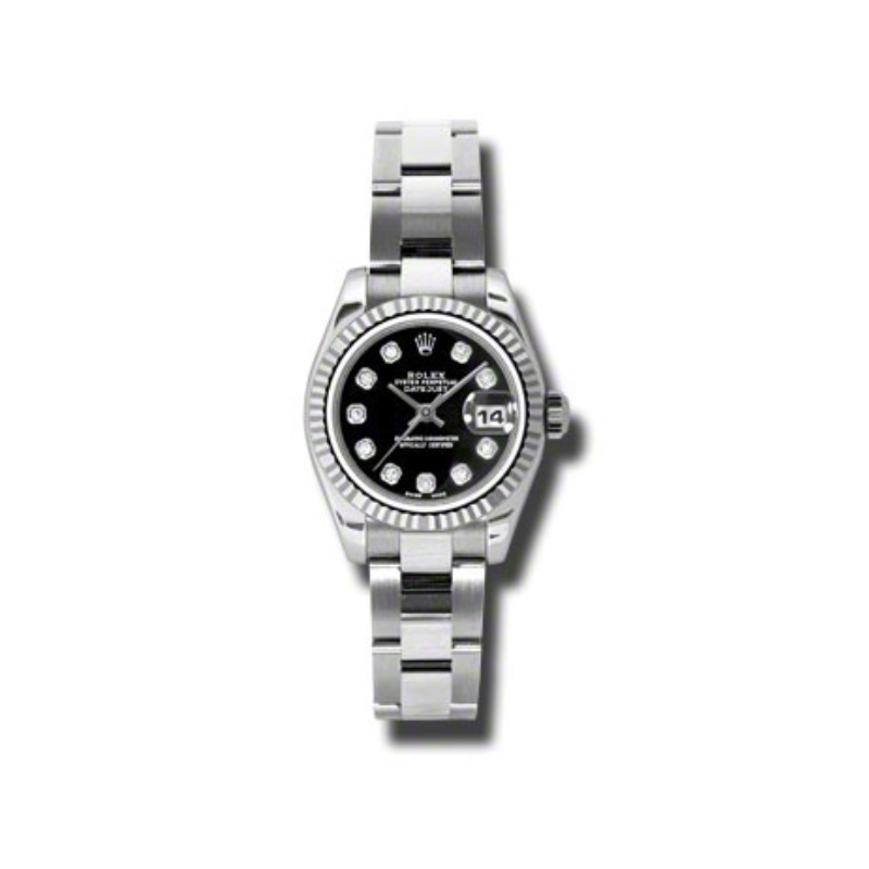 Oyster Perpetual Lady Datejust 179174 bkdo