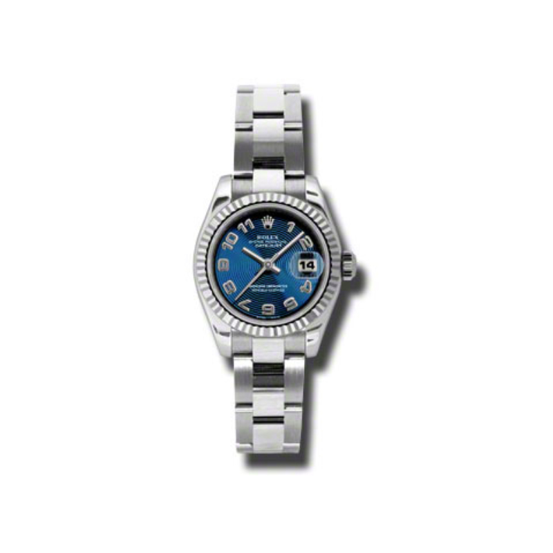 Oyster Perpetual Lady Datejust 179174 blcao
