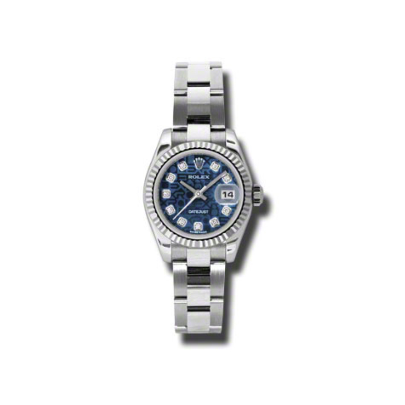 Oyster Perpetual Lady Datejust 179174 bljdo