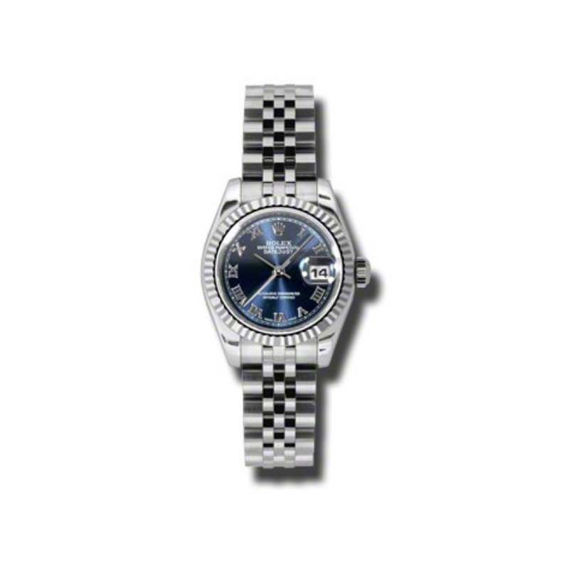 Oyster Perpetual Lady-Datejust 26 Fluted Bezel 179174 blrj