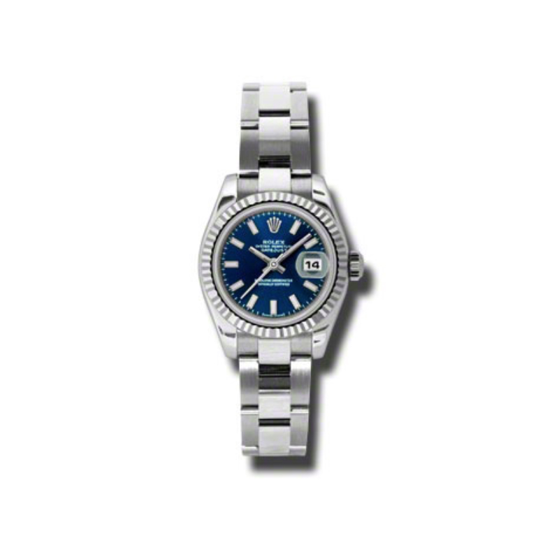 Oyster Perpetual Lady-Datejust 26 Fluted Bezel 179174 blso