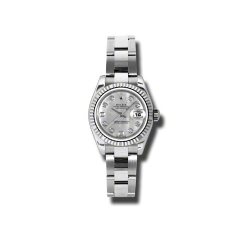 Oyster Perpetual Lady-Datejust 26 Fluted Bezel 179174 mdo