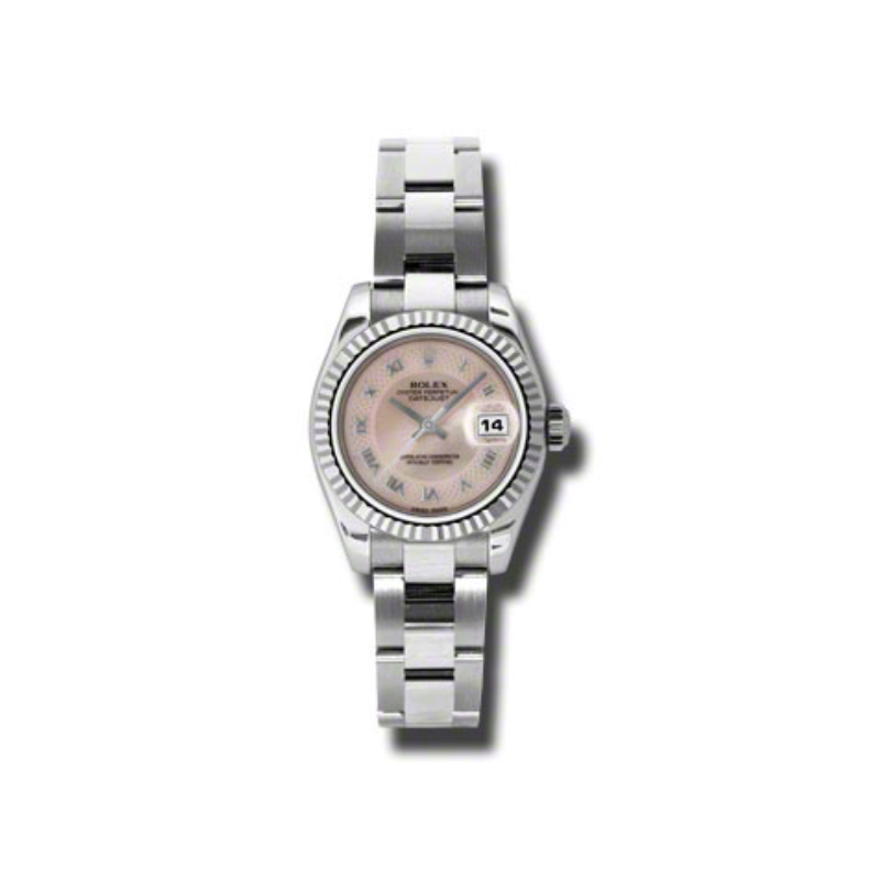 Oyster Perpetual Lady-Datejust 26 Fluted Bezel 179174 mpdro