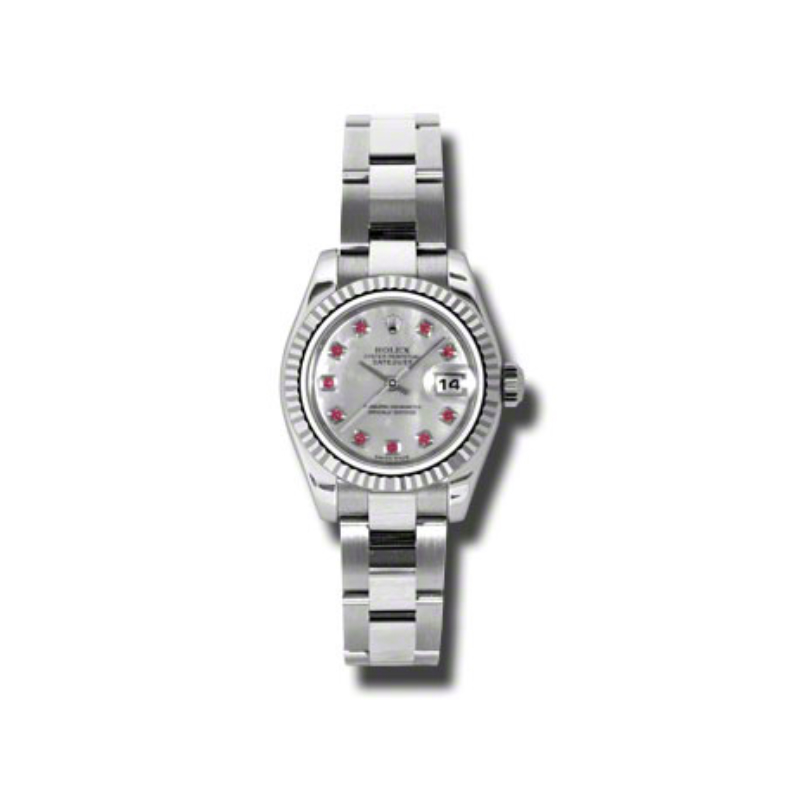 Oyster Perpetual Lady-Datejust 26 Fluted Bezel 179174 mrbo