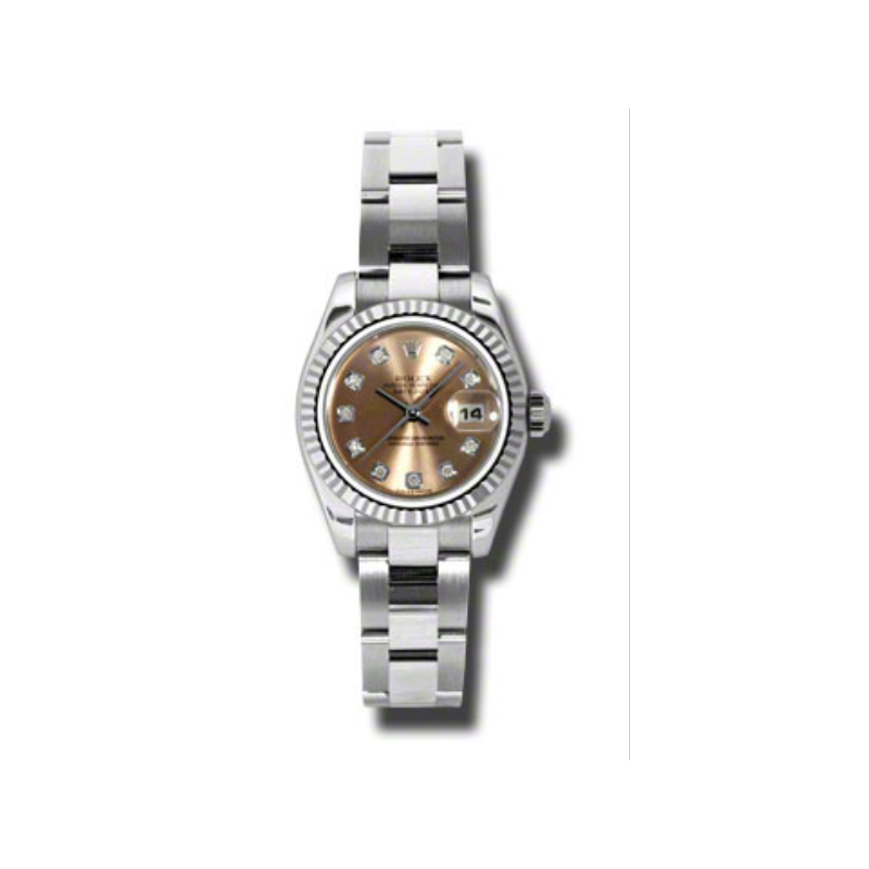 Oyster Perpetual Lady-Datejust 26 Fluted Bezel 179174 pdo