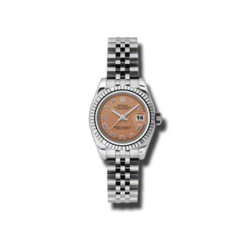 Oyster Perpetual Lady-Datejust 26 Fluted Bezel 179174 prj