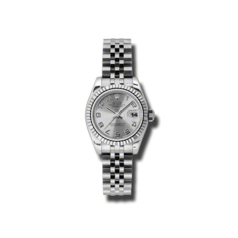 Oyster Perpetual Lady-Datejust 26 Fluted Bezel 179174 scaj