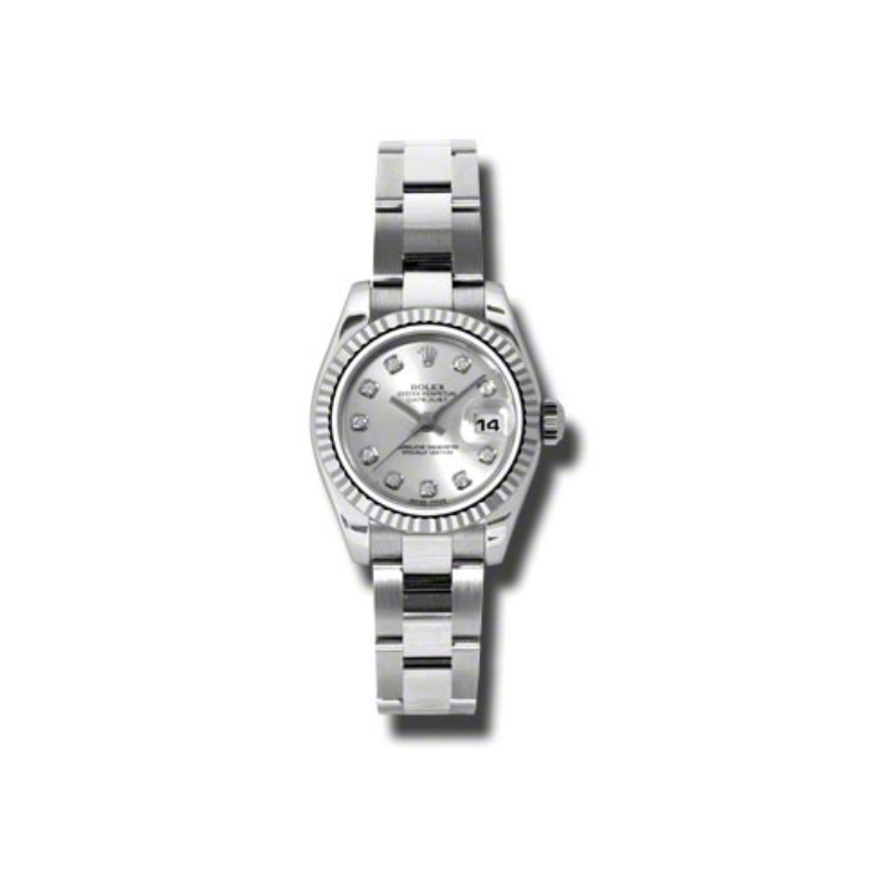 Oyster Perpetual Lady-Datejust 26 Fluted Bezel 179174 sdo