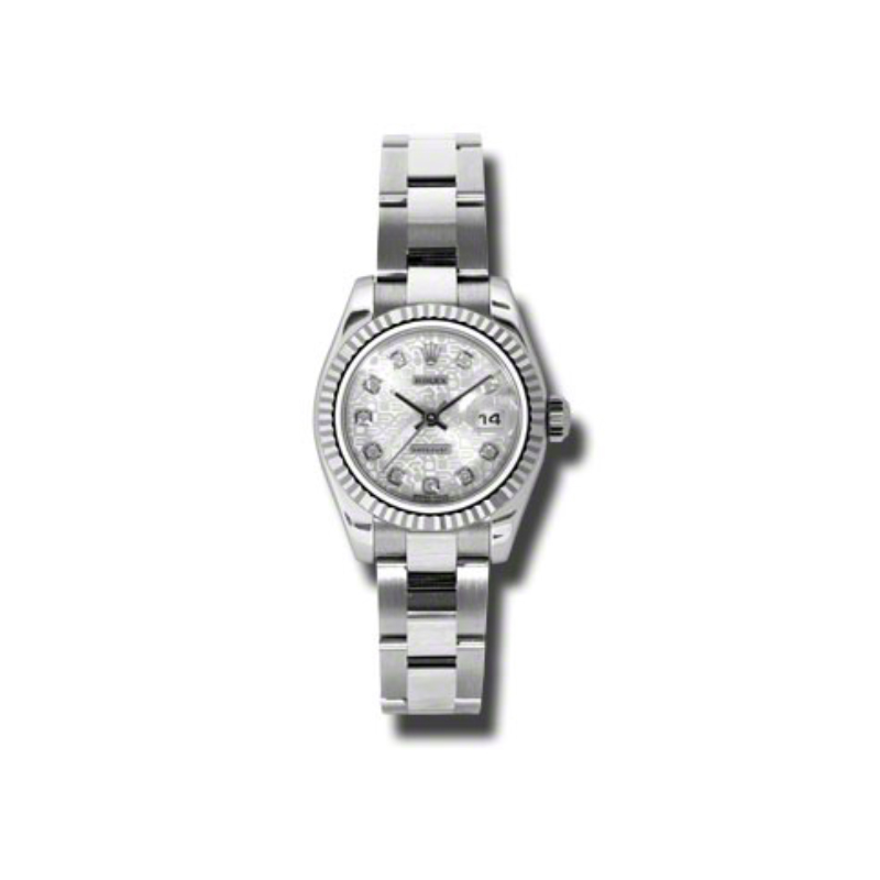 Oyster Perpetual Lady-Datejust 26 Fluted Bezel 179174 sjdo