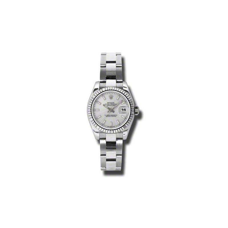 Oyster Perpetual Lady-Datejust 26 Fluted Bezel 179174 sso