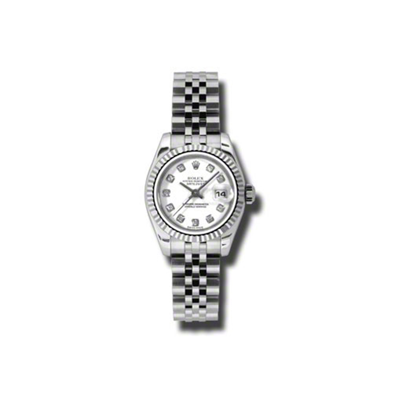 Oyster Perpetual Lady-Datejust 26 Fluted Bezel 179174 wdj