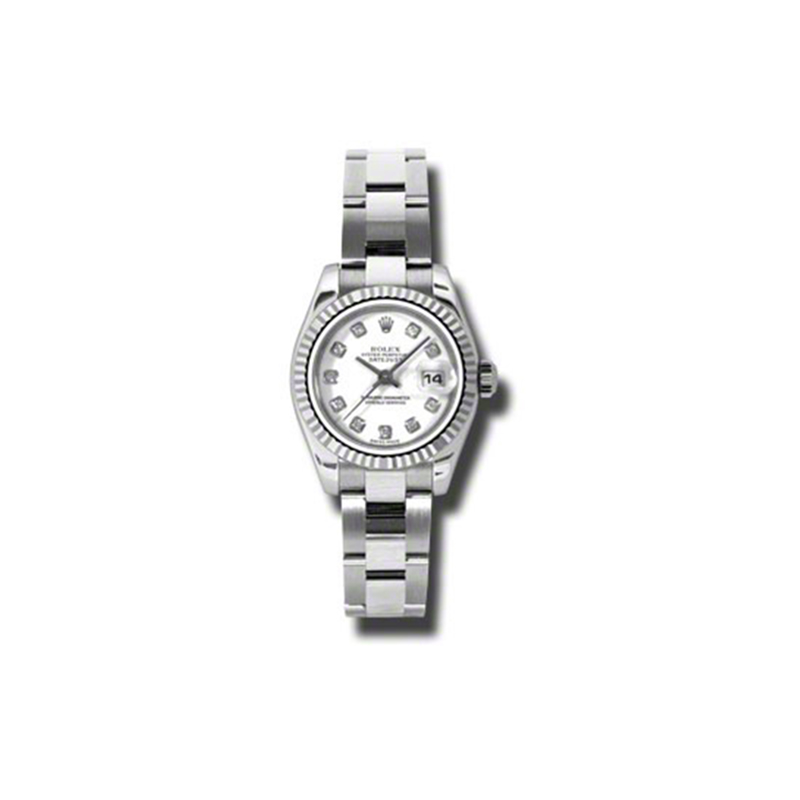 Oyster Perpetual Lady-Datejust 26 Fluted Bezel 179174 wdo