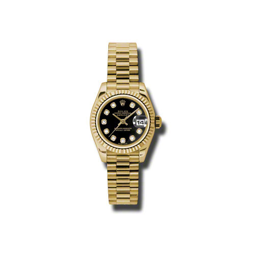 Oyster Perpetual Lady-Datejust 179178 bkdp