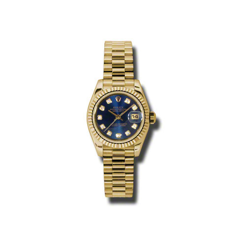 Oyster Perpetual Lady-Datejust 179178 bldp