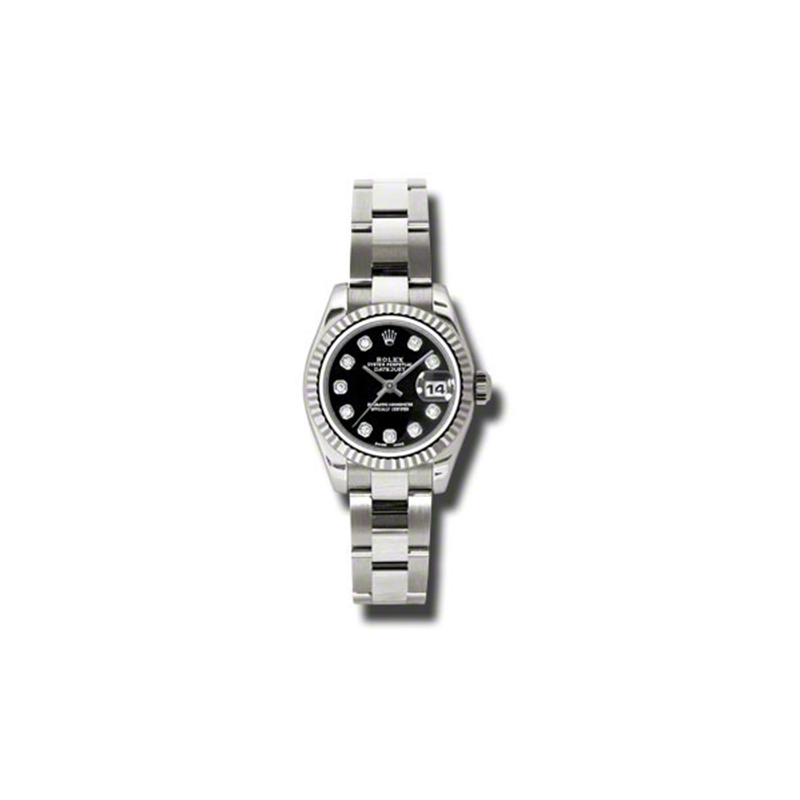 Oyster Perpetual Lady-Datejust 179179 bkdo