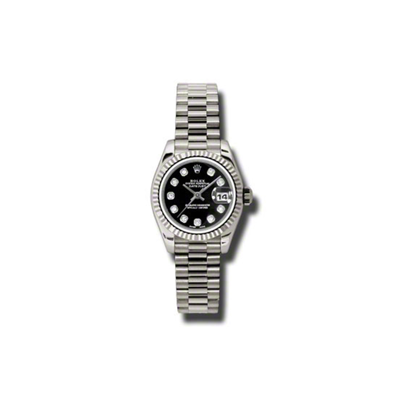 Oyster Perpetual Lady-Datejust 179179 bkdp