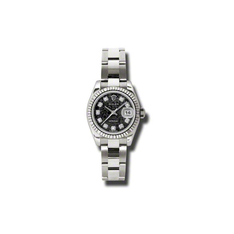 Oyster Perpetual Lady-Datejust 179179 bkjdo