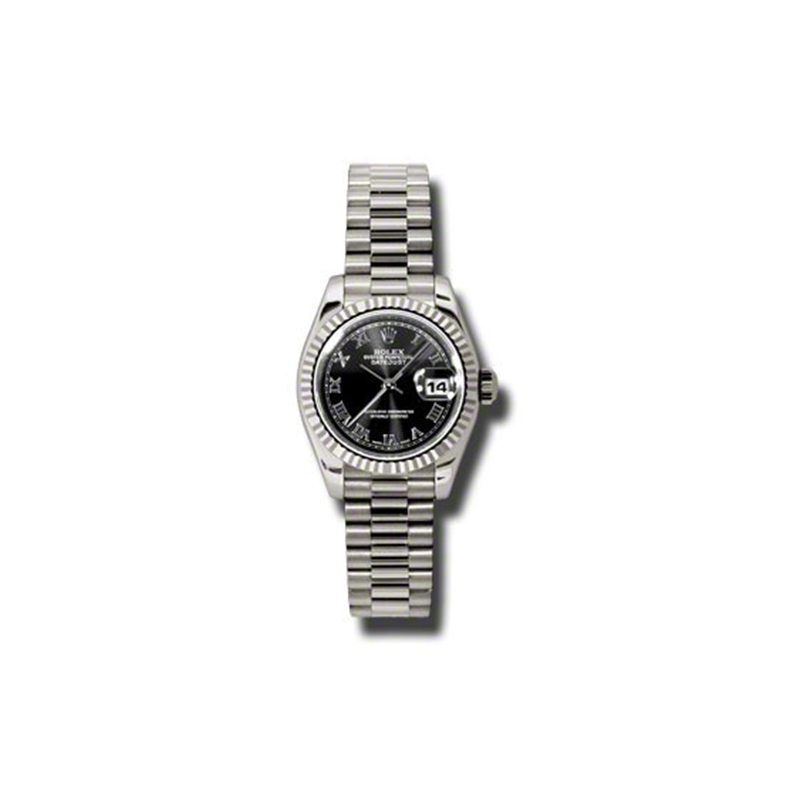 Oyster Perpetual Lady-Datejust 179179 bkrp