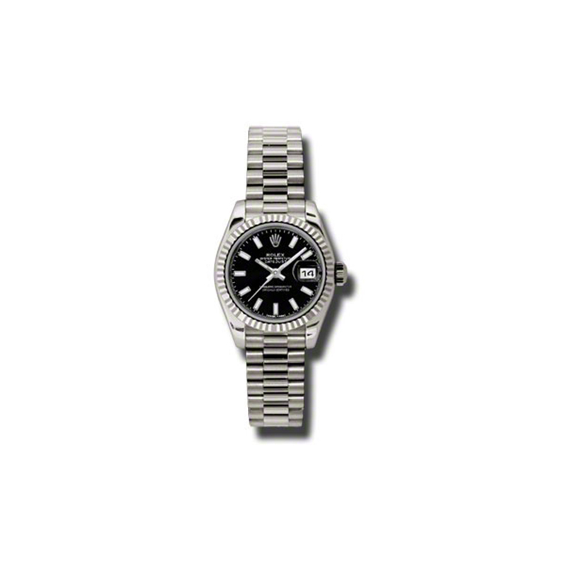 Oyster Perpetual Lady-Datejust 179179 bksp