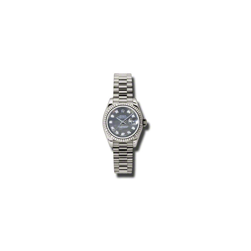Oyster Perpetual Lady-Datejust 179179 dkmdp