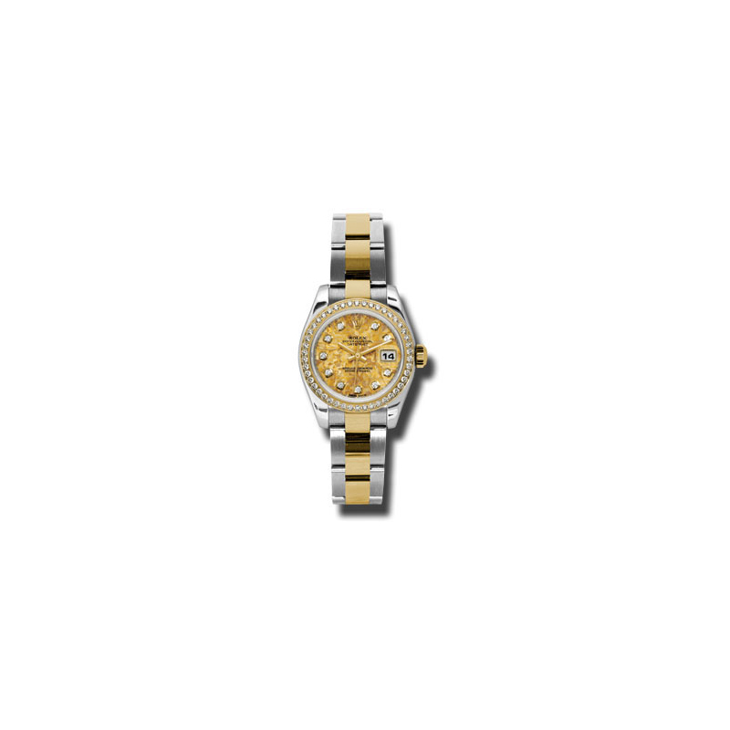 Oyster Perpetual Lady Datejust 179383 ygcdo