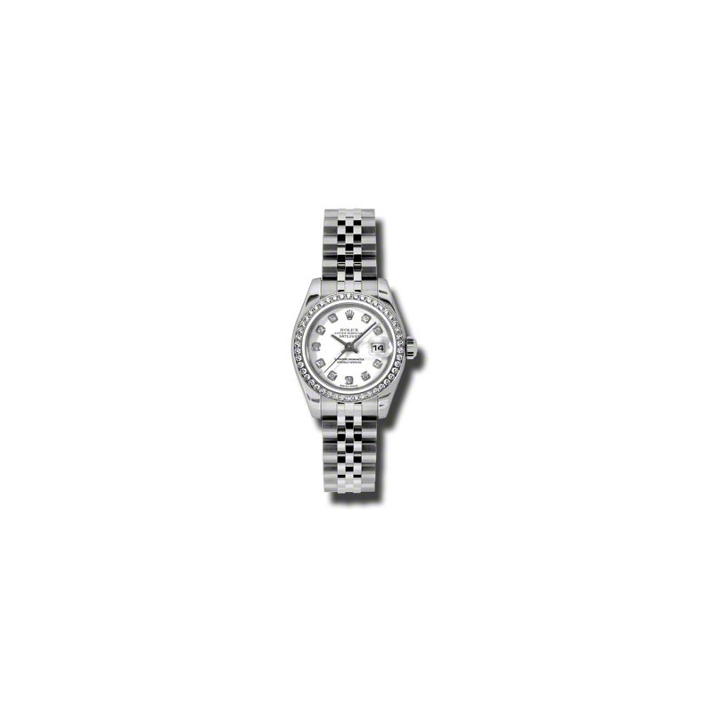 Oyster Perpetual Lady-Datejust 26 Diamond Bezel 179384 wdj