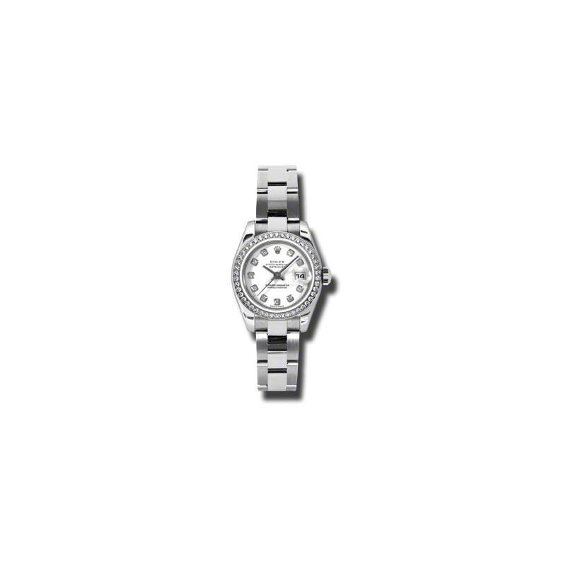 Oyster Perpetual Lady-Datejust 26 Diamond Bezel 179384 wdo