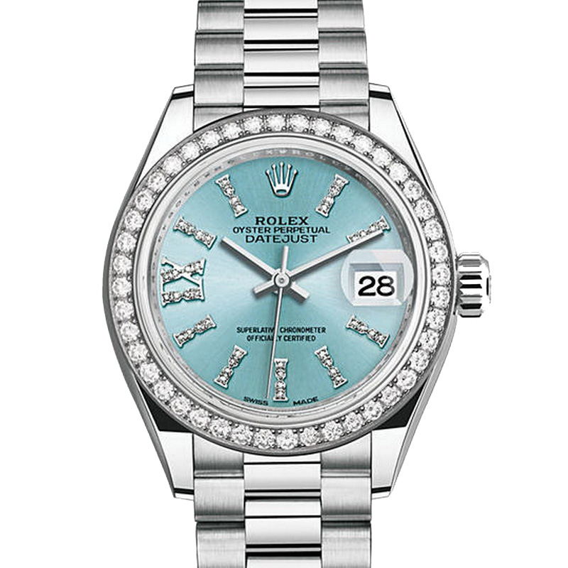 Oyster Perpetual Lady-Datejust 28 279136RBR (Platinum)