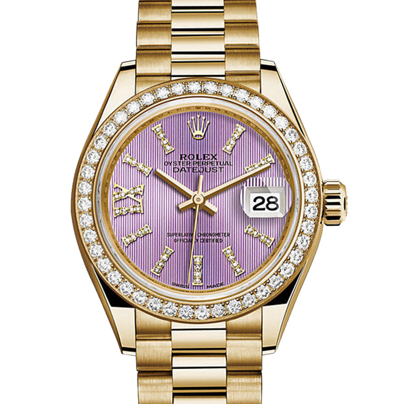 Oyster Perpetual Lady-Datejust 28mm 279138RBR (Yellow Gold)