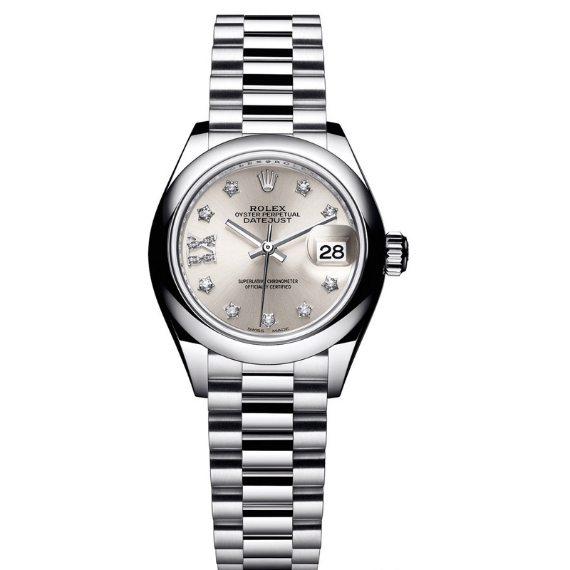 Oyster Perpetual Lady-Datejust 28mm 279166 (Platinum)