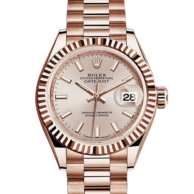 Oyster Perpetual Lady-Datejust 28 279175 (Everose Gold)