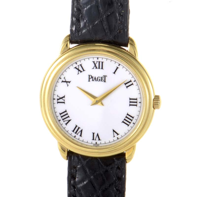 Unisex 18K Yellow Gold Watch 1755