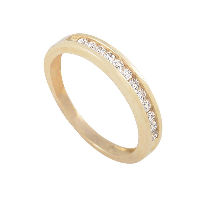 14K Yellow Gold Diamond Band Ring LB4-02511Y