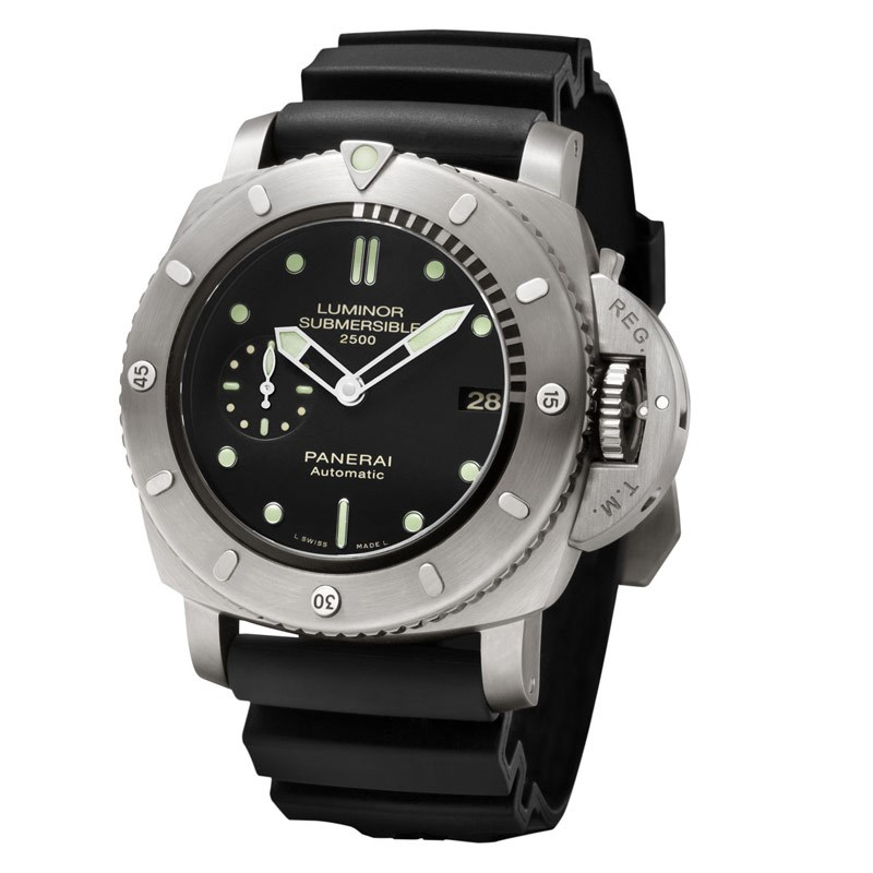 Luminor Submersible 1950 2500m 3 Days Automatic Titanio PAM00364