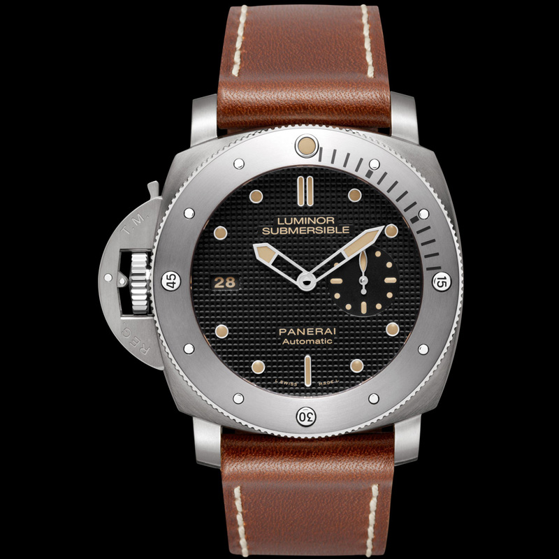 Luminor Submersible 1950 Left-handed 3 Days Automatic Titanio PAM00569