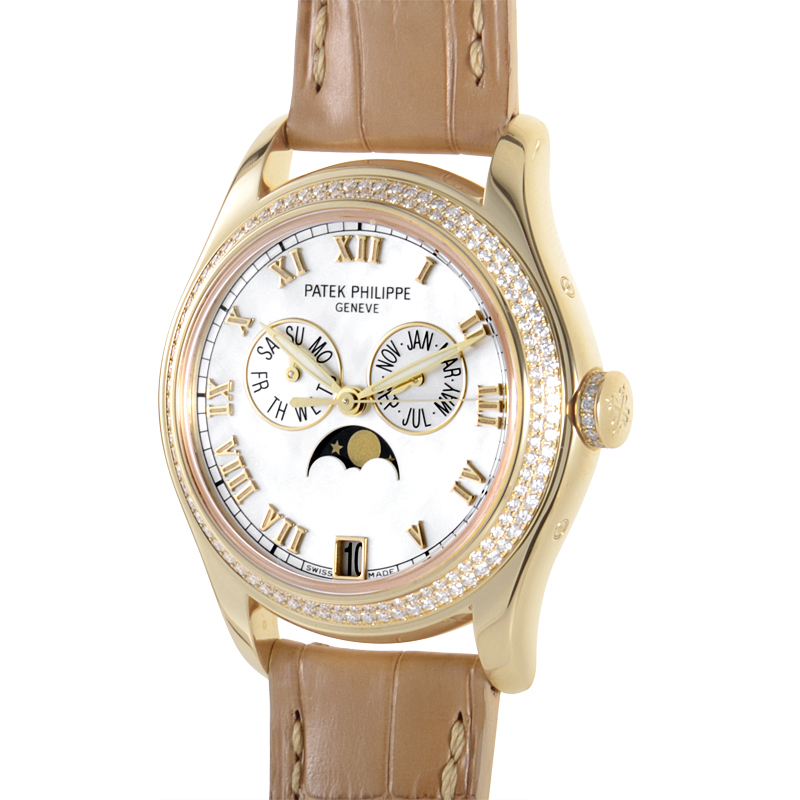 Patek philippe annual calendar ladies 4936j luxury bazaar for Patek philippe women