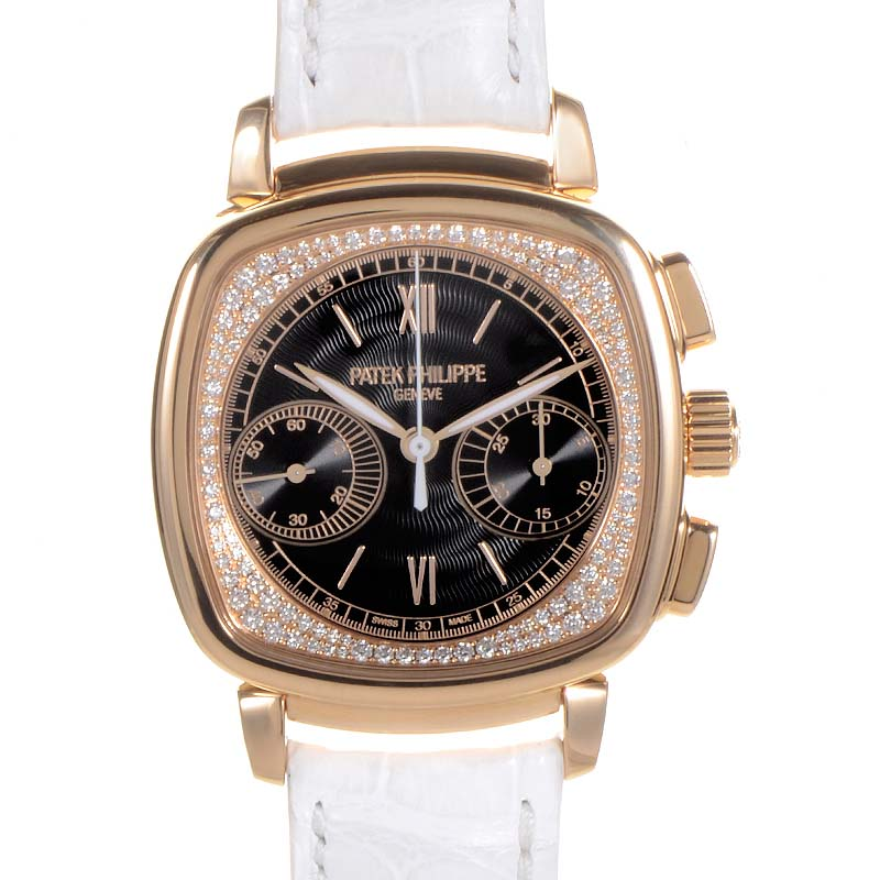Patek philippe ladies first chronograph 7071r 010 luxury bazaar for Patek philippe women